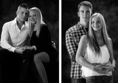 Paare und Freunde